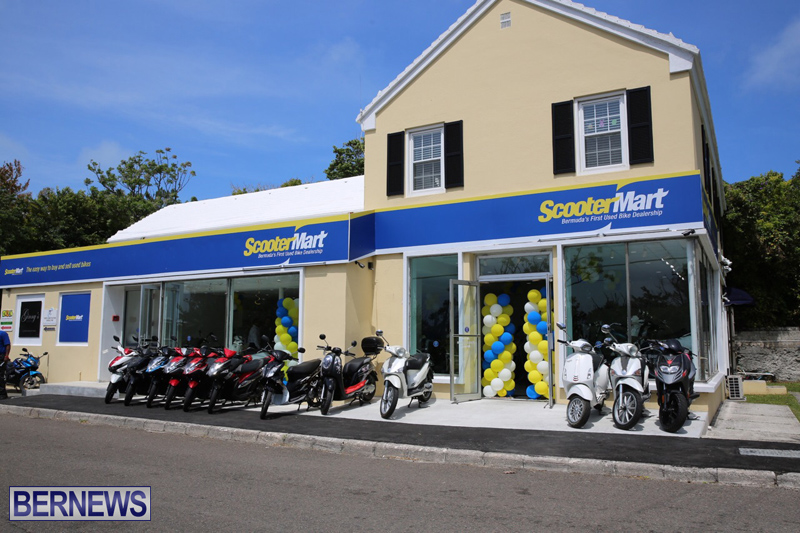 Scooter Mart Grand Opening Bermuda April 5 2017 (5)