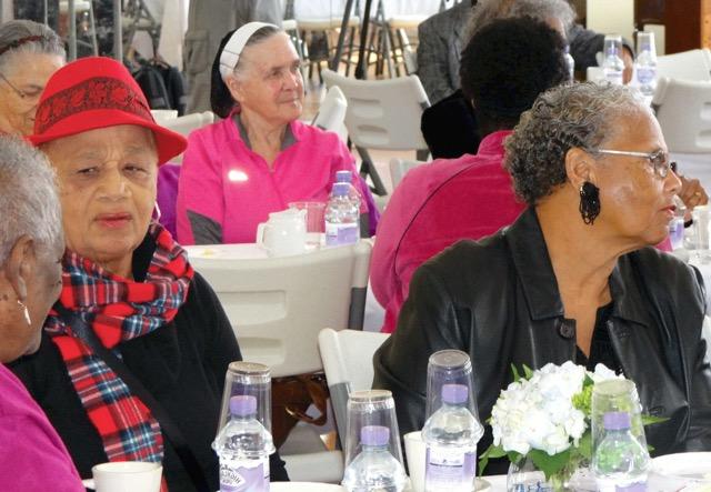 Seniors Tea Alreta Martin & Edna Davis Bermuda April 13 2017 (1)