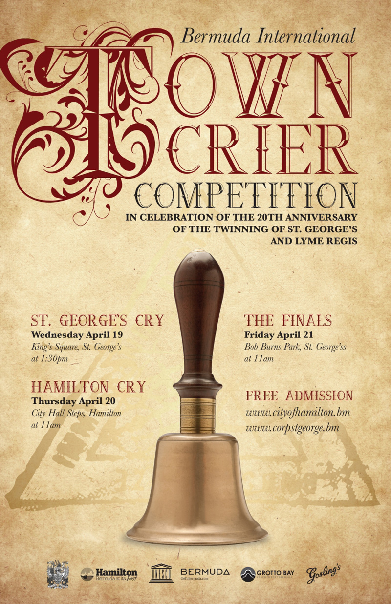 Town Crier Competition Bermuda April 2017