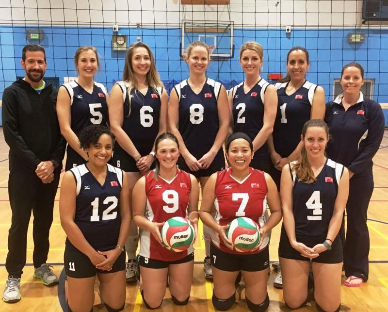 Volleyball Womens National Team Bermuda April 2017