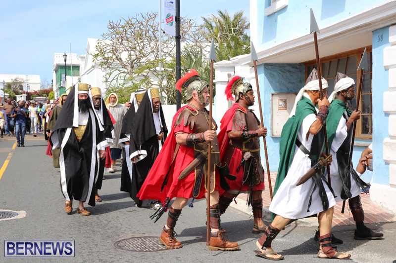 Walk-To-Calvary-Reenactment-Bermuda-April-14-2017-7