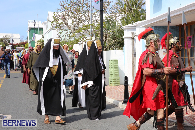 Walk-To-Calvary-Reenactment-Bermuda-April-14-2017-8