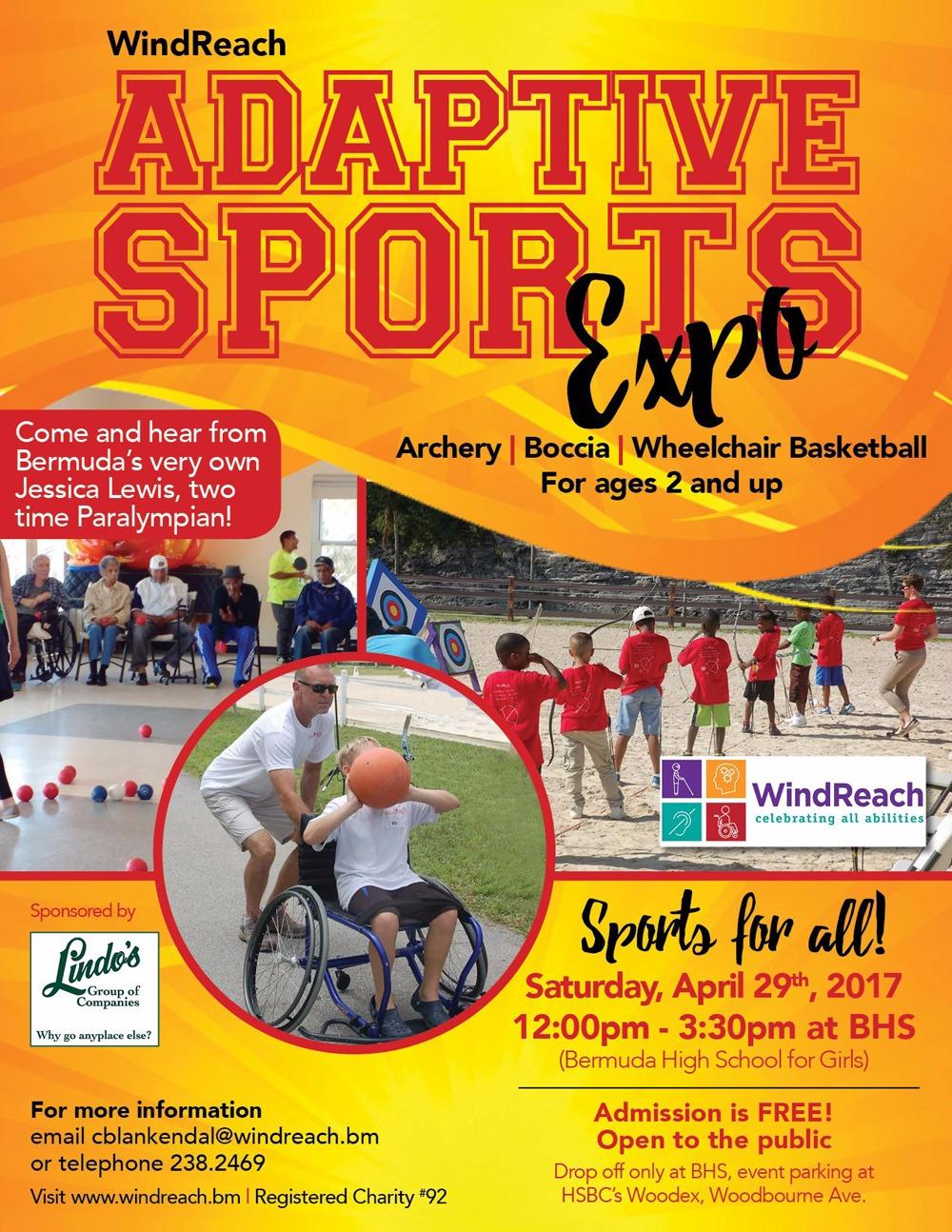 Windreach SportExpo Bermuda April 29 2017