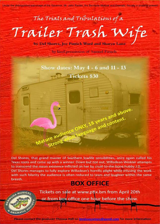 trailer trash wife bermuda April 19 2017