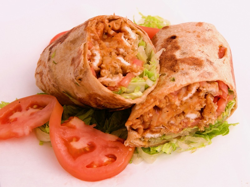2-Chicken Wrap