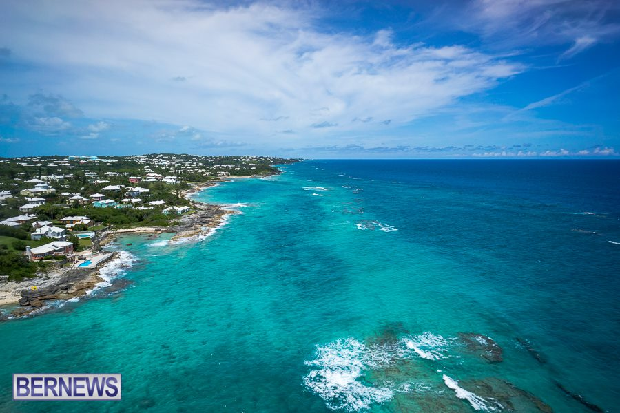 268 A glorious aerial view of Bermuda's south shore