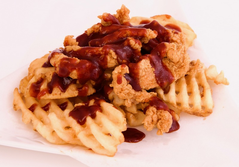 3-BBQ Chicken Fries