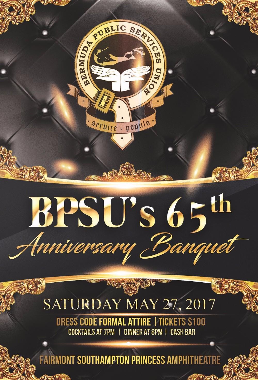 65th Anniversary - Banquet Bermuda May 17 2017