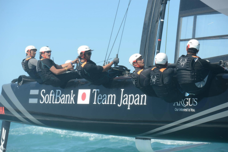 AC Softbank Team Japan Bermuda May 3 2017
