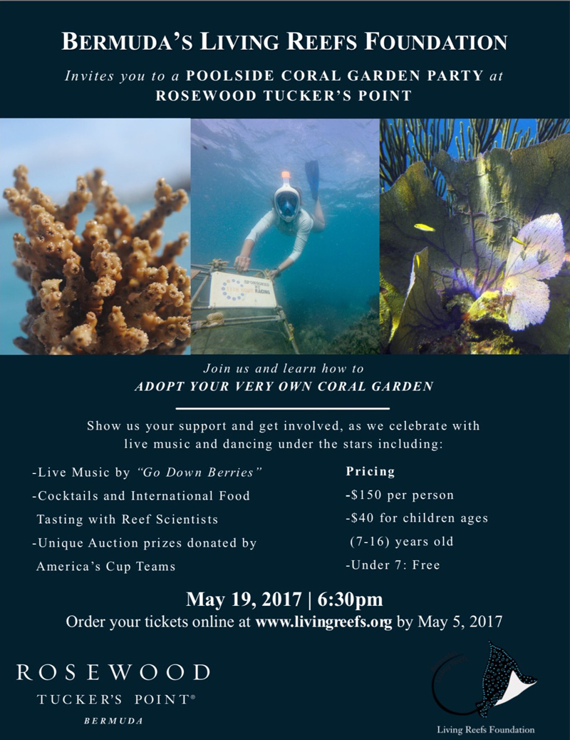 Bermuda's Living Reefs Foundation May 2017