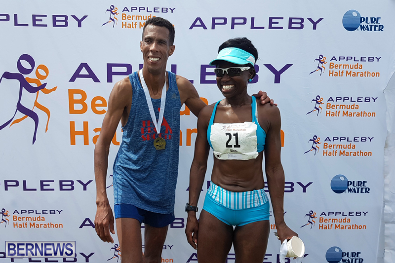 Bermuda Half Marathon Winners May 24 2017