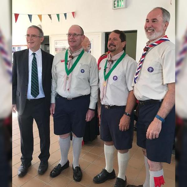 Bermuda Scouts_Award of Merit May 3 2017
