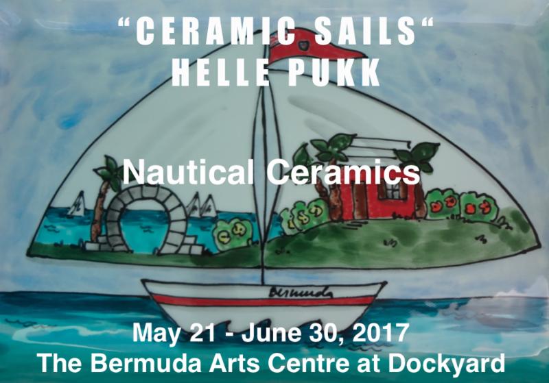 Ceramic Sails Bermuda May 2017