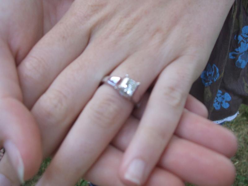 Engagement ring Bermuda May 2017