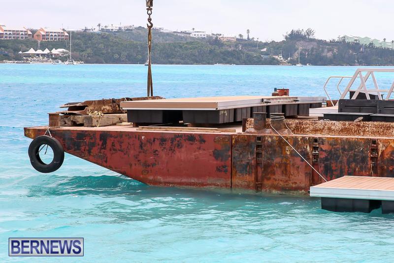 Floating Dock Causeway Bermuda, May 14 2017-6