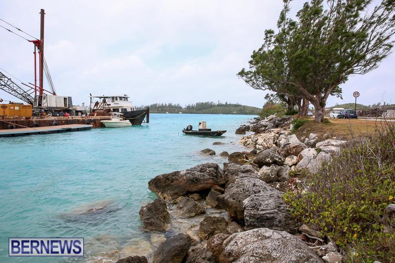 Floating Dock Causeway Bermuda, May 14 2017-7