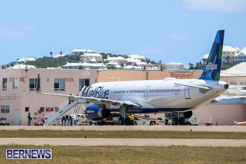 JetBlue Diversion Bermuda, May 13 2017-1
