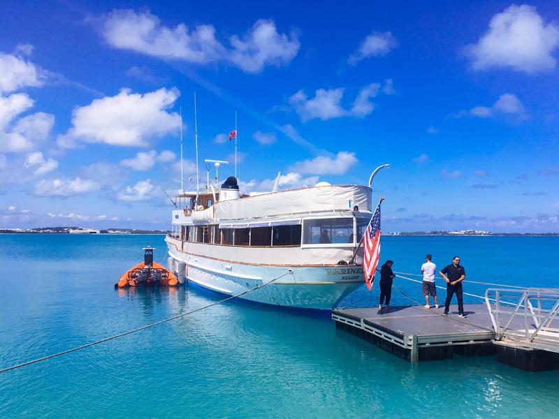 Mariner III Spectator Yacht Bermuda May 25 2017
