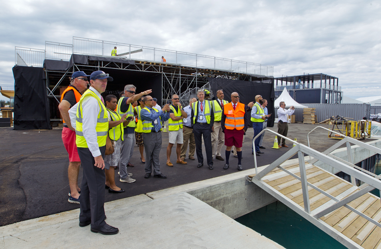 Premier Cabinet Dockyard Bermuda May 9 2017 (1)