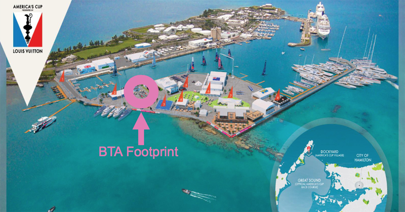 Race Village Footprint Bermuda May 2017
