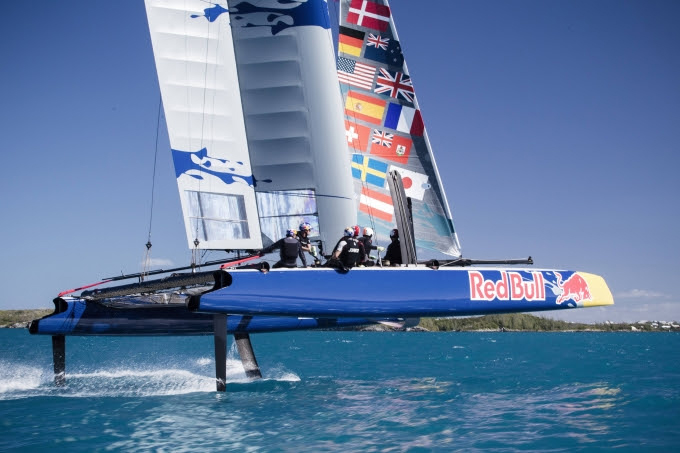 Red Bull Youth America's Cup Bermuda May 30 2017