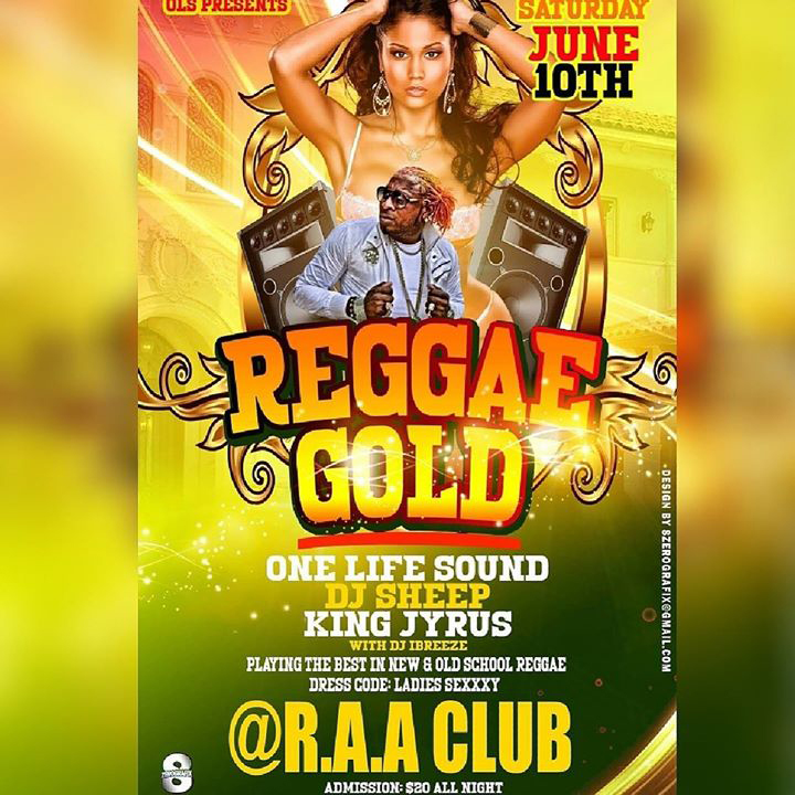 Reggae Gold Bermuda May 2017