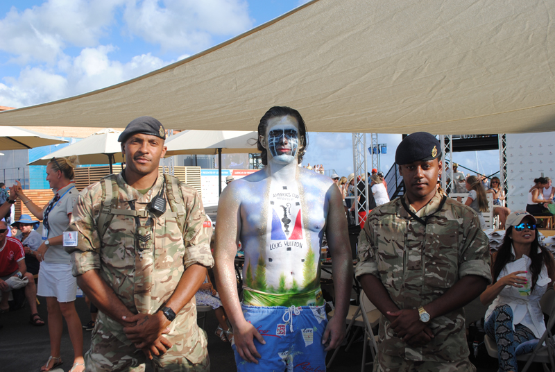 Regiment at AC opening Bermuda May 27 2017 (3)