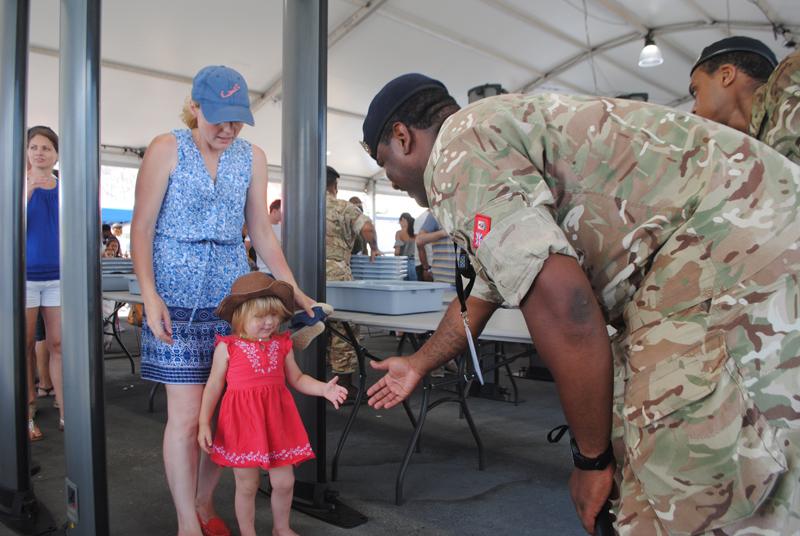 Regiment at AC opening Bermuda May 27 2017 (5)