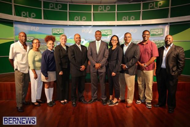 Rev Dr Ernest Peets PLP Bermuda May 11 2017 (1)
