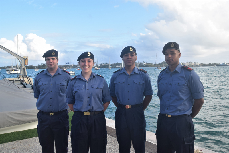 Sea Cadets Tall Ships Bermuda 11 May 2017
