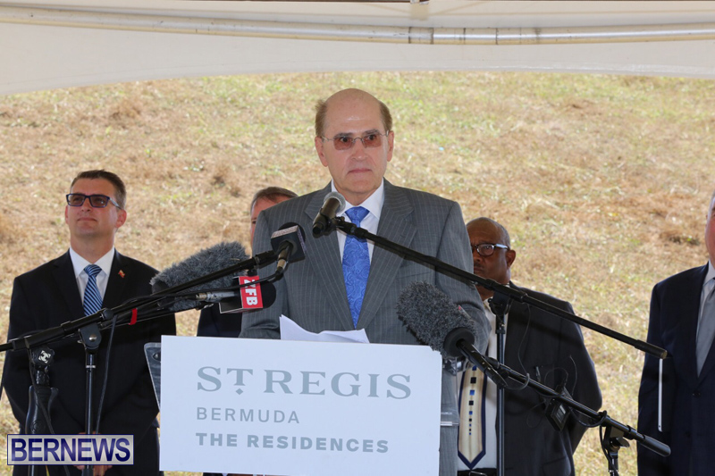 St Regis Hotel Groundbreaking Bermuda May 4, 2017 (13)