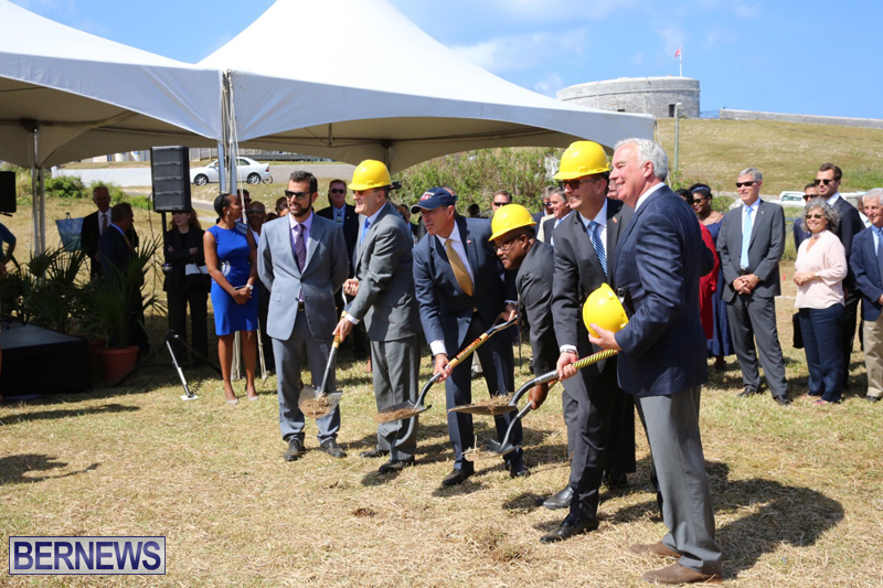 St Regis Hotel Groundbreaking Bermuda May 4, 2017 (16)