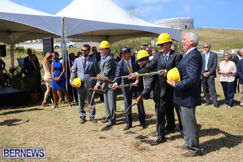 St Regis Hotel Groundbreaking Bermuda May 4, 2017 (18)