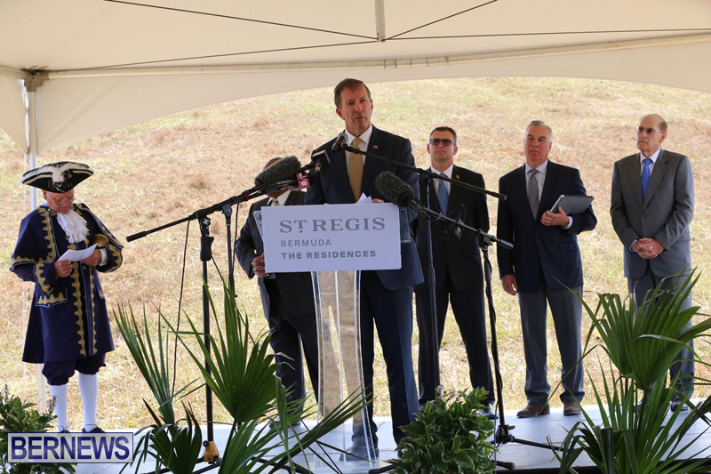 St Regis Hotel Groundbreaking Bermuda May 4, 2017 (4)
