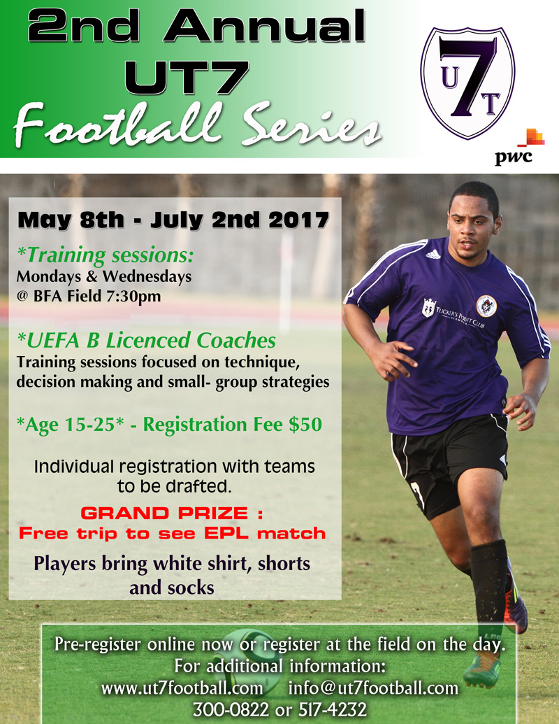 UT7 Football Tournament Bermuda May 2017