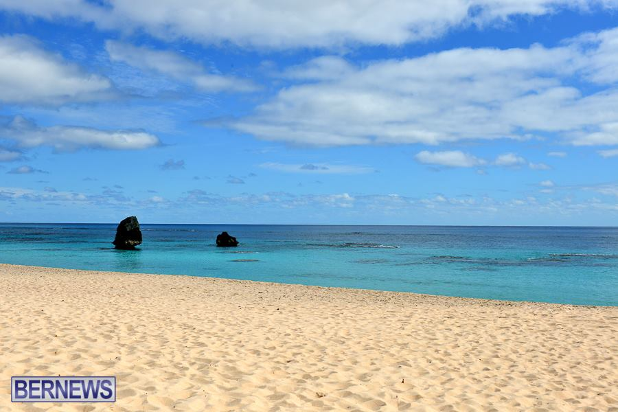 317 The stunning Warwick Long Bay, another of Bermuda's beautiful beaches.