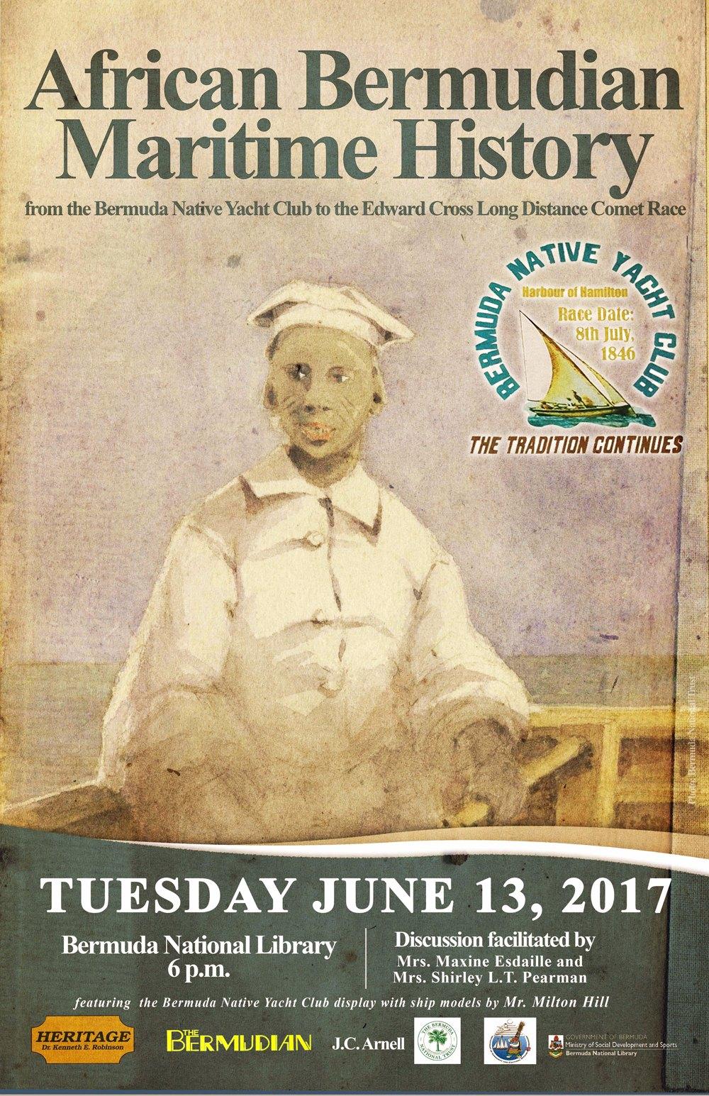 African Bermudian Maritime History - June 9 2017