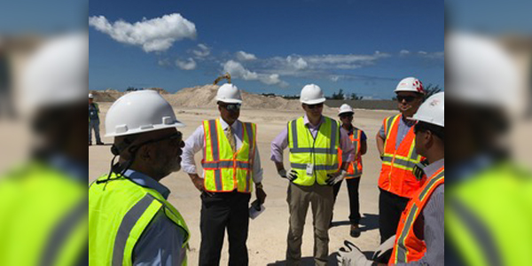 Airport Redevelopment Site Visit Bermuda June 15 2017