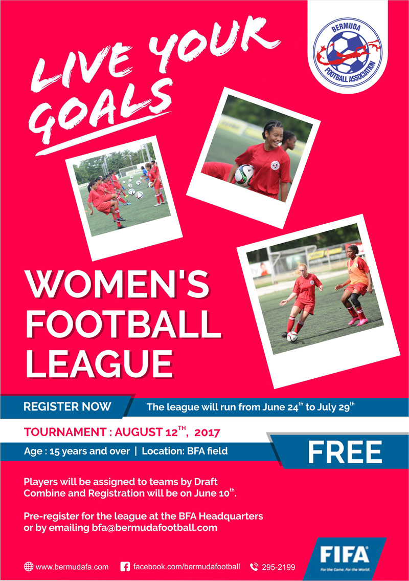BFA Womens League Bermuda June 2017