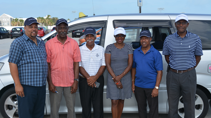 BTA Taxi drivers Bermuda June 2017