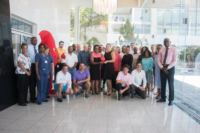 Corporate Blood Drive Winner Bermuda June 14 2017