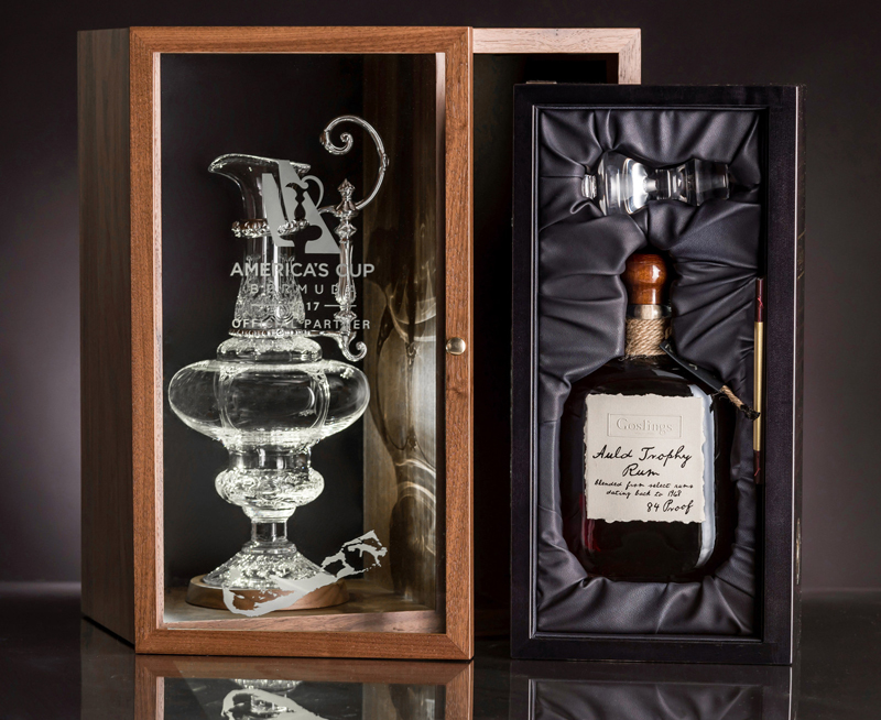 Goslings Brothers Rum And Cup Decanter