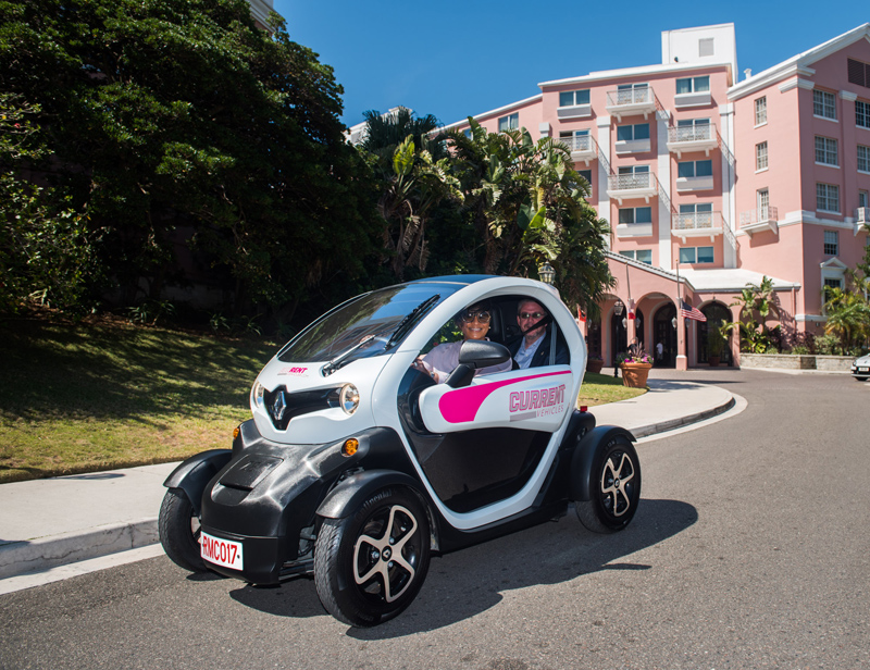Video Twizy Rental Minicar Now On The Road Bernews