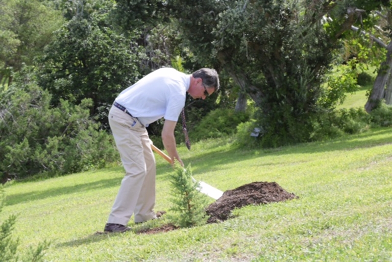 HRH Princess Royal's Tree planting (1)