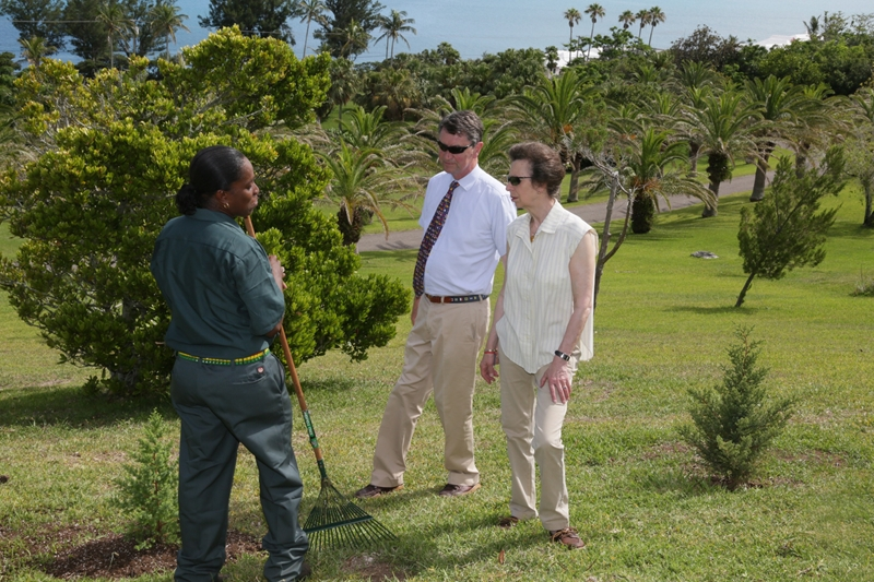 HRH Princess Royal's Tree planting (3)
