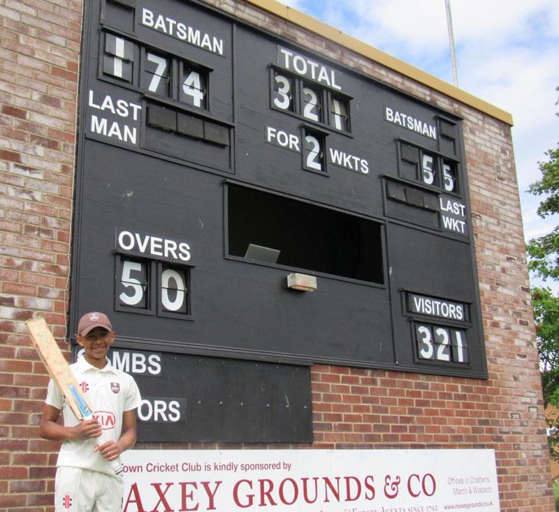 Marcus Scotland Score 4 June
