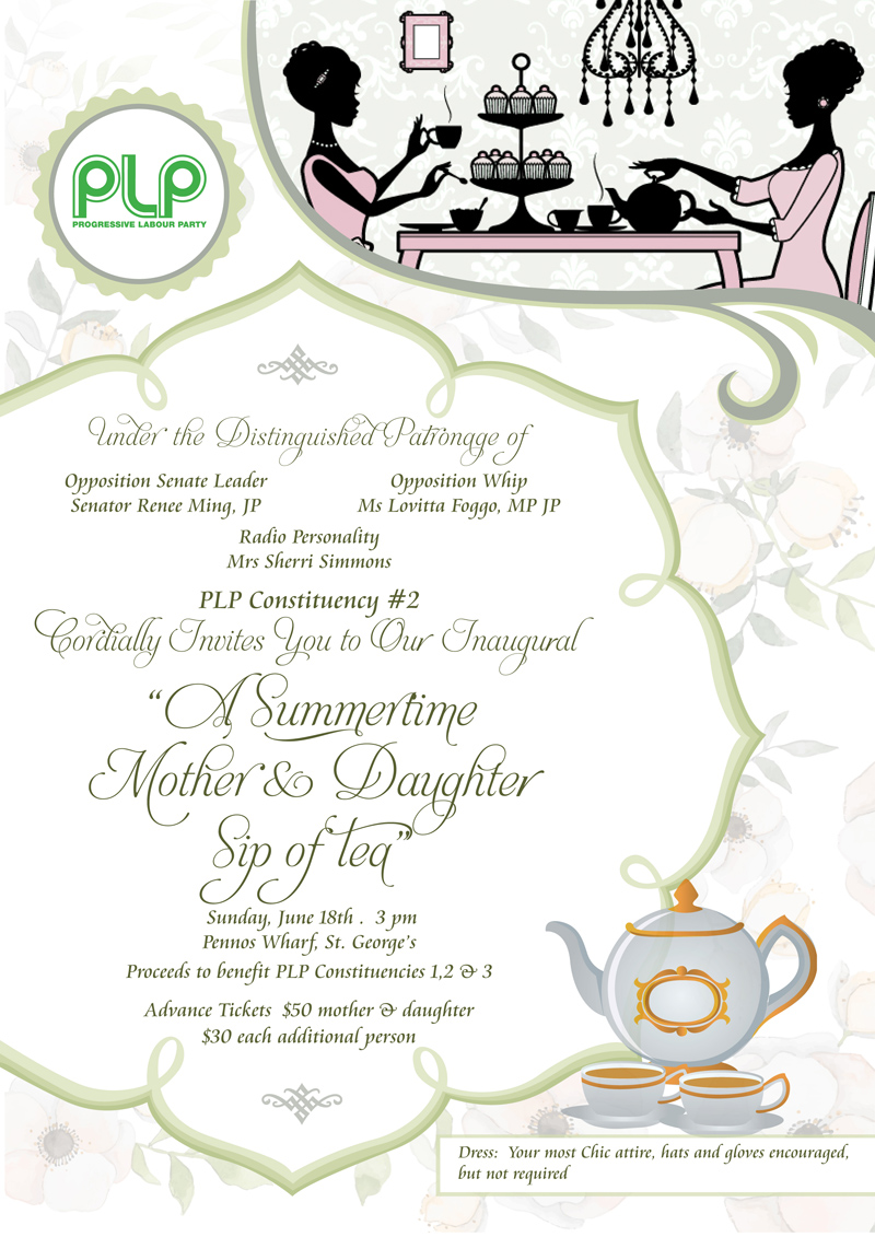 Mother Daughter Tea Bermuda June 2017