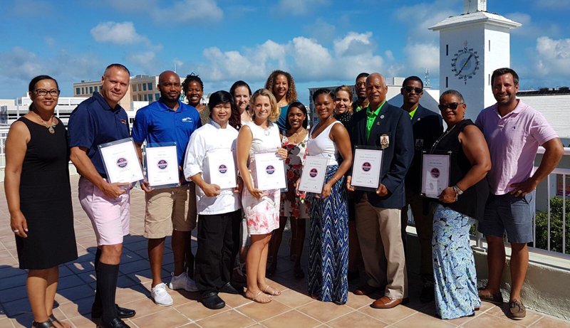 NSSP Certification Group Bermuda June 2017