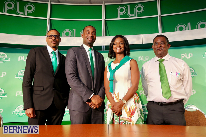 PLP Press Conference Bermuda June 15 2017