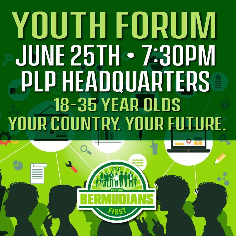 PLP Youth Forum Bermuda June 2017